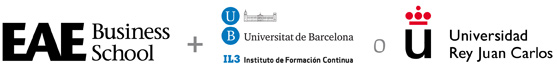 EAE Business School + Universitat de Barcelona + Universidad Rey Juan Carlos